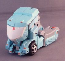 TFA Kup Alt Mode by Shinobitron