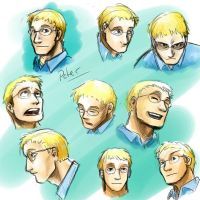 Peter face study by jameson9101322