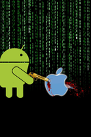 Android-vs-apple The HitMan by K-liss
