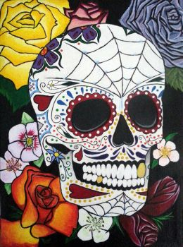 Sugar Skull by Tiffany-Lathrop
