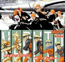 Bleach X Naruto by MoWLii-SaMa