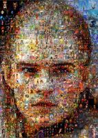Legolas Greenleaf Mosaic by Cornejo-Sanchez