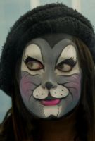 Mouse facepaint by acolourfullife
