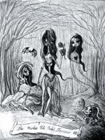 The Fatal CorpseMaids by SpiderJelly