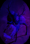 The Nightmare Stag by The-EverLasting-Ash