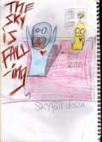THE SKY IS FALLING!!!!!! by IsisBunny