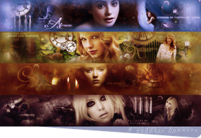 4 goddess banners part 1 by by-tessa