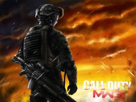 Call of DUTY MODERN WARFARE 3 by jose144