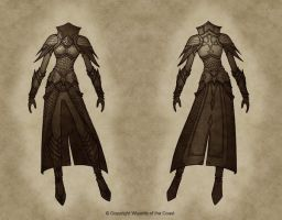 Serpentine Warrior by Concept-Art-House