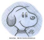 Sketch - Snoopy by AK-Is-Harmless