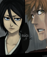 B459 Ichigo and Rukia by GTColors