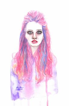 Sweet - watercolor by odamargrethe