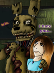 Springtrap I Hate You2 by MikaCapde