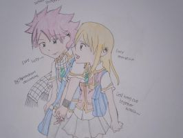 NaLu: Let's hang out together by Ayakashixxx