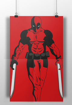Deadpool The Movie (Christmas Poster) by RobertoJOEL1307
