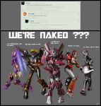 WE'RE NAKED ??? by X4vrztesp