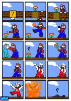 Comic 4: Fire Mario by The-Blue-Pangolin