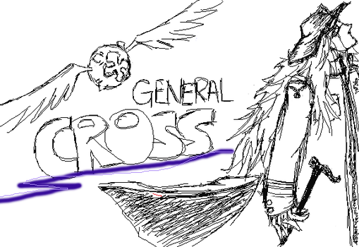 Cross Sketch by stalgicxsilences