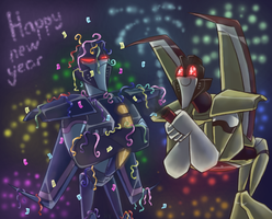 TFA - Happy New Year '13 by Rosey-Raven