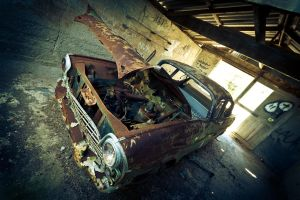 Old and Abandoned by Niv24