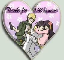 APH-Thanks for 5000 pageviews by Hazel-Almonds