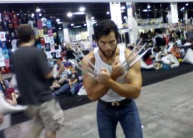 Wolverine at Wizard-World by CRPass