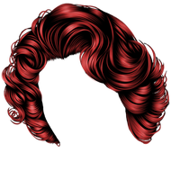 Short Red Curls by hellonlegs