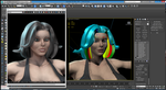 Thuggette: Hair Farm Test 02 by grico316