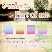 Part of me Gradients by MaaruuEditions