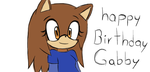 Gift - happy birthday gabby!!! by aprilsfool1478