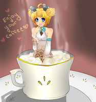 Enjoy your coffee by creampuffchan