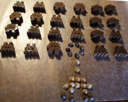 Chocolate Space Invaders by Pawkeet