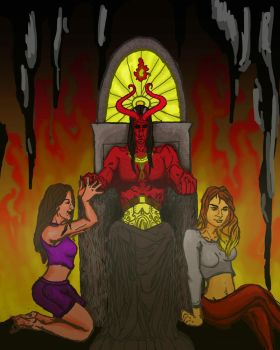 Hell by falconcrow