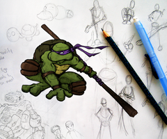 Donatello by experimettle