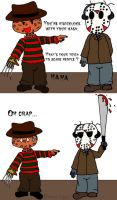 Before Freddy knows Jason by Lupade