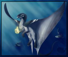 Dragon Number 46/52 - Depth Charge Dragon v2 by OuttatheBlueSkye