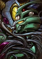 Aptom and Guyver I by Aiuke
