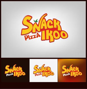 Snack logo by rachidbenour