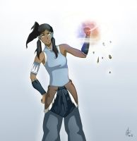 Korra's Power by VeritoRojas