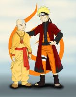 The Avatar and The Jinchuuriki by PsyFULL