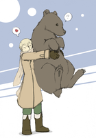 bear hug by jamew85