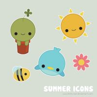 Summer Icons by Keito-San
