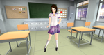 (SL) Crystal Tokyo High's Newest Student by Dr-Scaphandre