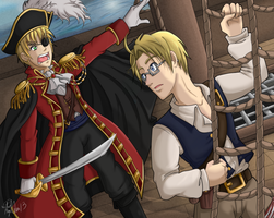 Pirates: Arthur and Alfred by AngelQueen13