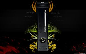 Xbox 360 Elite by FroggleNL