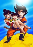 Family GOKU ART by Comunello76