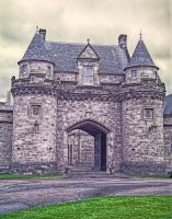 Alnwick Castle Gate by PaulWeber