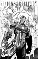 Two Sketch 14: Iron Man by Shono