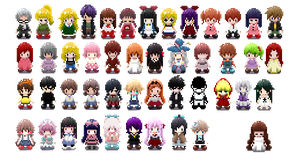 Practicing pixel art skill! RPG Horror Games! by GemuMeku