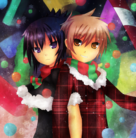 SS:Bright gifts Christmas by KaitoYan